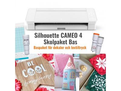 Cameo 4 Skolpaket (Skolpaket Bas/Vit Cameo)