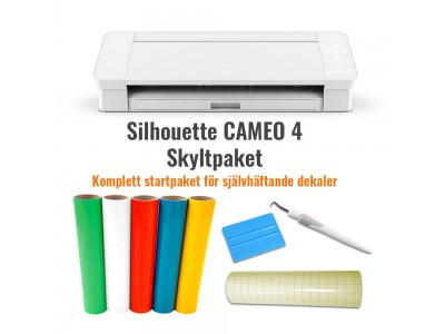 Cameo 4 Skyltpaket (Vit)