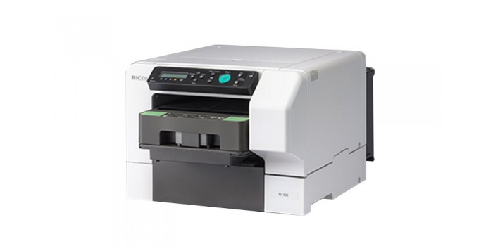 RICOH Ri 100 DTG printer (Direct to Garment)