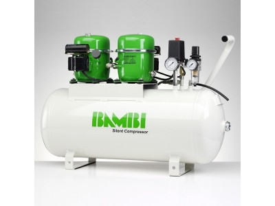 Bambi Air Compressors BB50D Budget Range - Silent Air Compress