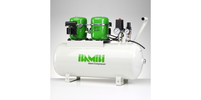 Bambi Air Compressors BB50D Budget Range - Silent Air Compress