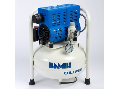 Bambi Air Compressors PT 24 - Ultra Low Noise Oil free Compressors